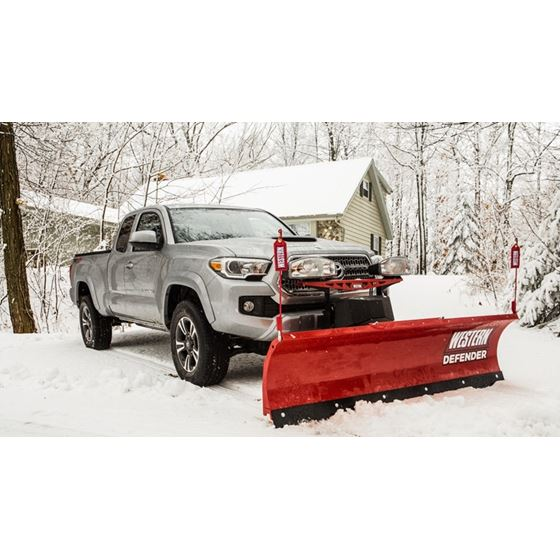 Western 6 8 Compact Straight Blade Snowplow