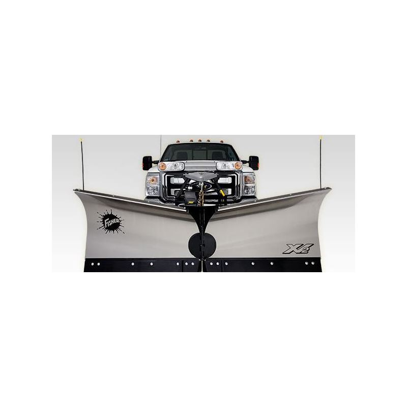 Fisher 8 6 Stainless Steel Vx2 V Plow